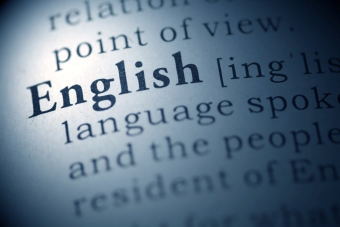Where does the English language come from?