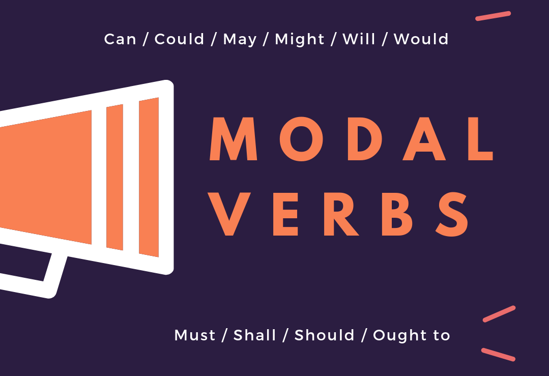 Modal Verbs – The Condiments of English | English Live Blog