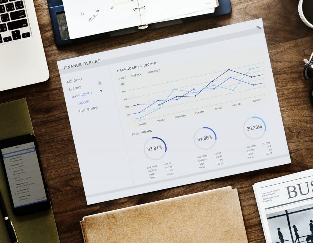 números en negocios en inglés